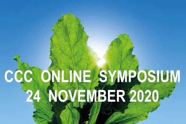 "CCC Symposium 24 november 2020 ""online"""