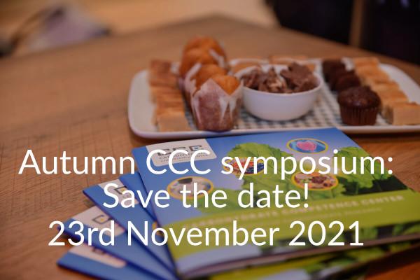 Autumn CCC symposium: Save the date!